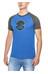 Prana Tent Pitch Club Raglan Kortærmet T-shirt Herrer blå